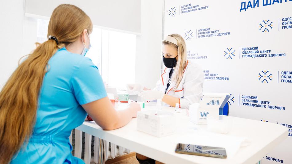 Понад 3,5 тисяч українців протестувалися на віл та гепатит с протягом європейського тижня тестування